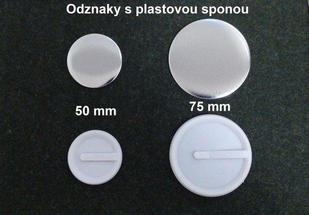 Výroba odznakov s plastovou sponou