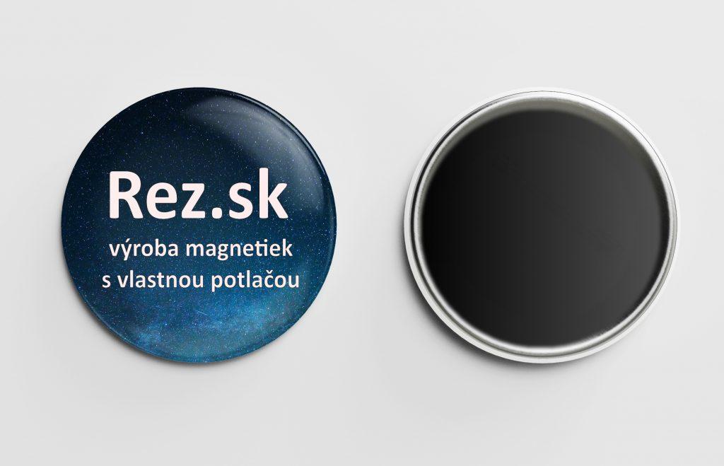 Rez.sk - výroba magnetiek s vlastnou potlačuo