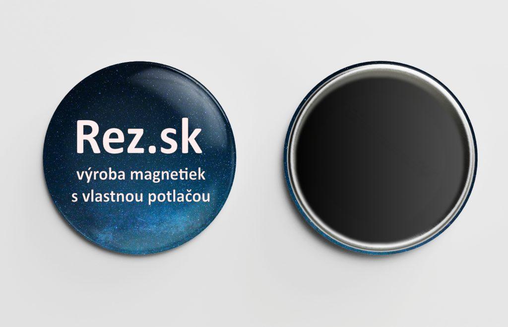 Výroba magnetiek - Rez.sk