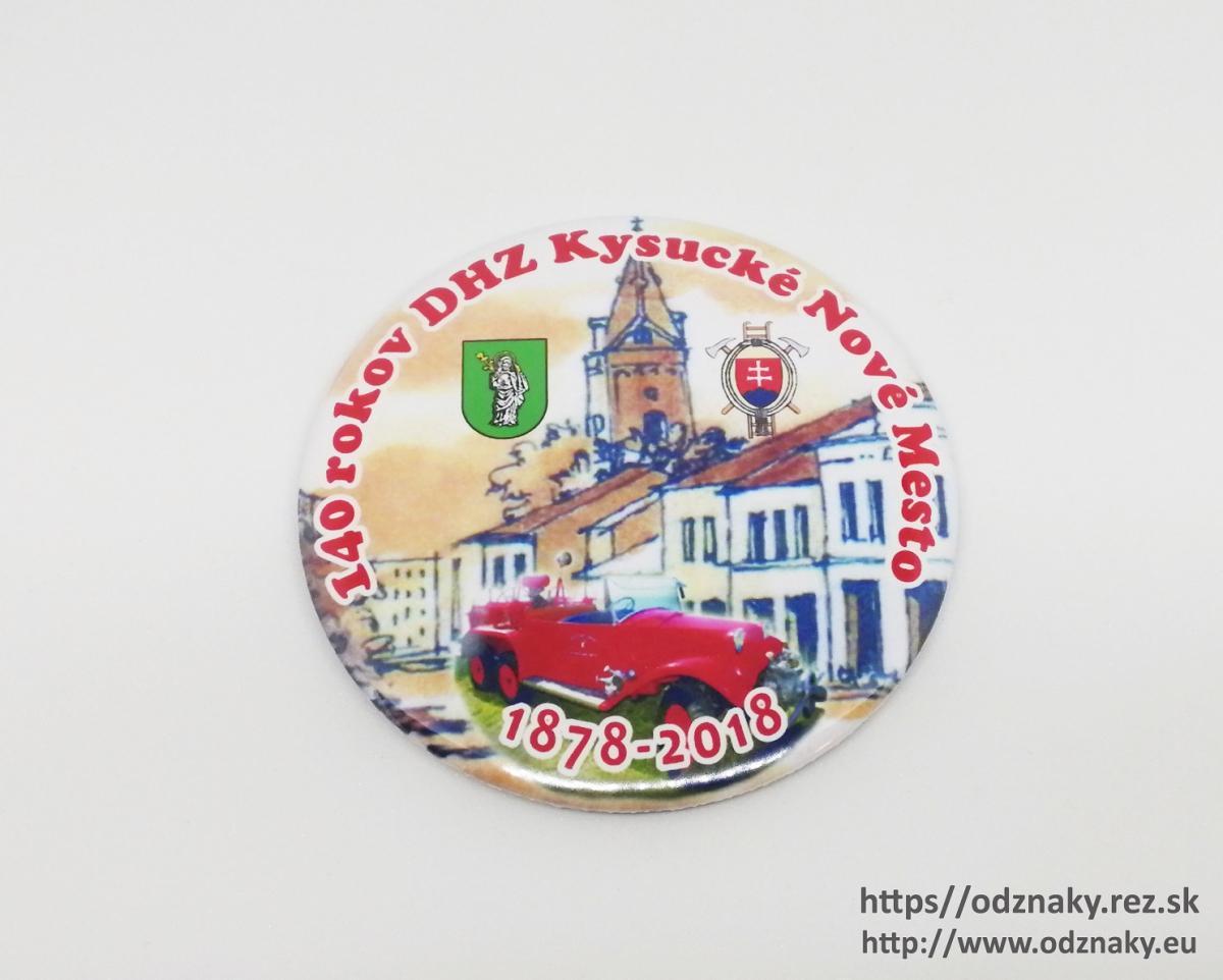 Magnetky k výročiu DHZ 140 rokov