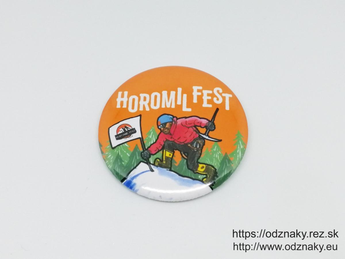 Odznaky Horomil Fest