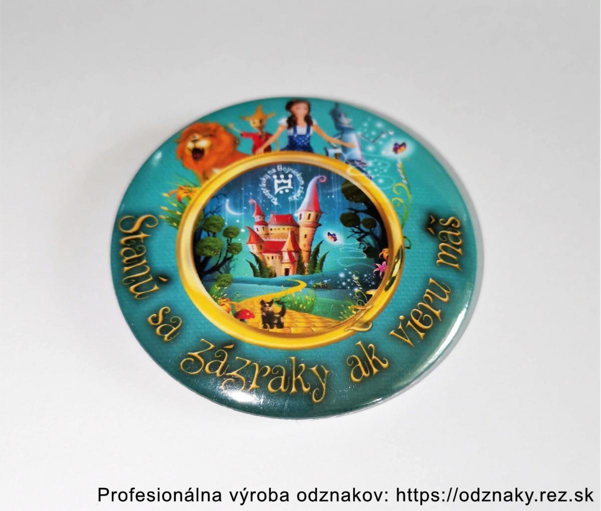Odznaky pre Rozprávkový zámok v Bojniciach - Stanú sa zázraky ak vieru máš