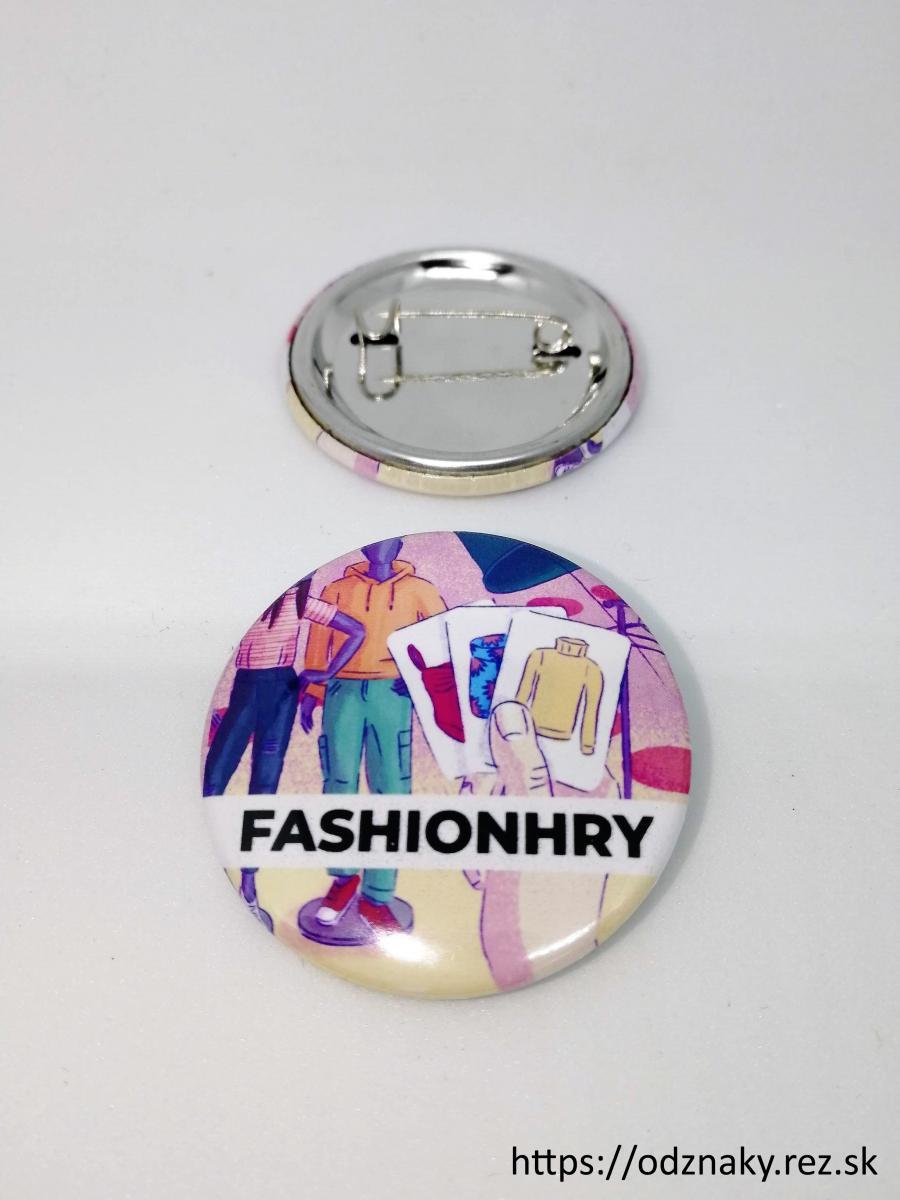 Odznaky Fashionhry