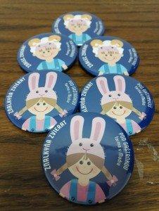Odznaky pre Farmu Modra