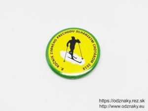 Odznak 8 rocnik zimneho prechodu Dlhanskym Chotarom 2018