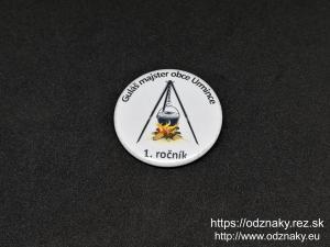 Odznaky Gulas majster obce Urmince 1 rocnik