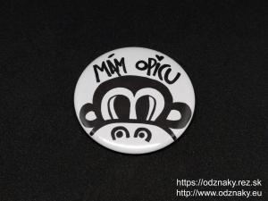 Odznaky Mam opicu