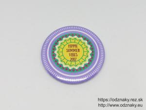 Odznaky pre Hippie Summer Vibes 2017