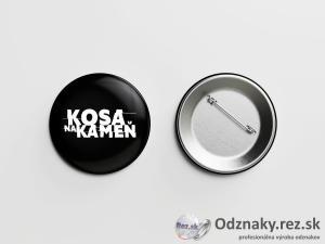 Odznaky pre kapely - Kosa na kameň