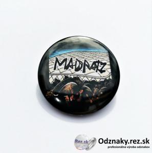 Odznaky pre kapelu Madratz