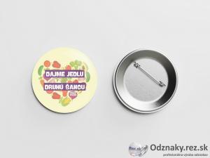 Odznaky pre občianske združenie Free Food