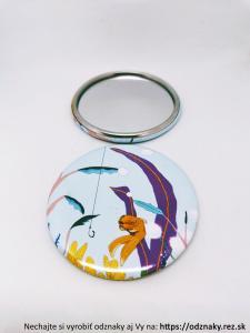 Zrkadielka s ilustráciami - rybka a háčik