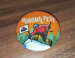Horomilfest - výroba odznakov