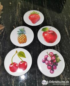 Odznaky s ovocnou tématikou
