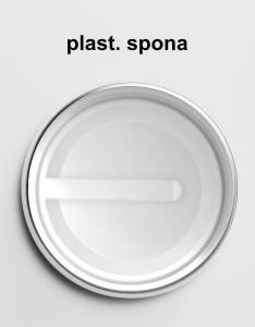 Odznaky s plastovou sponou